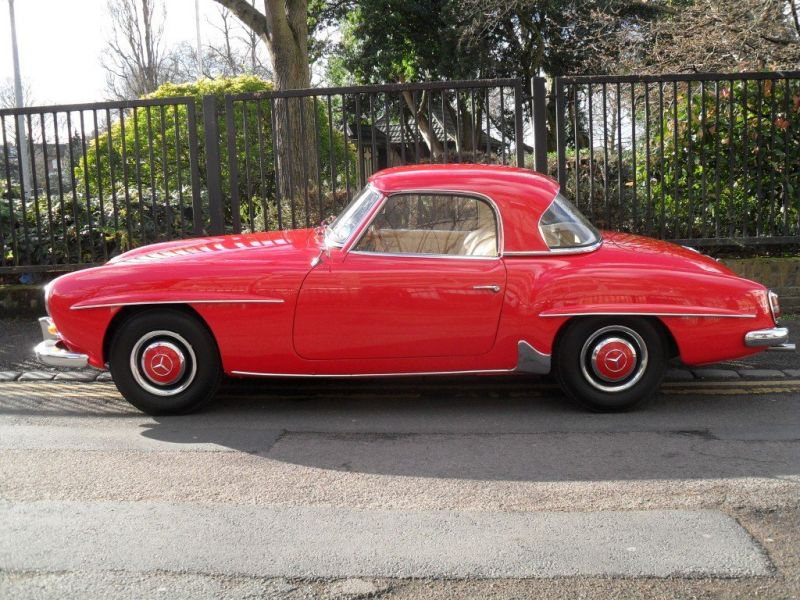 1960 mercedes benz 190sl for sale classic car ad from for Mercedes benz 190 sl for sale