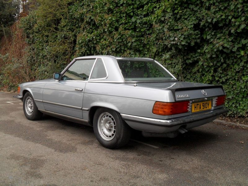 1983 Mercedes Benz 500sl For Sale Classic Car Ad From