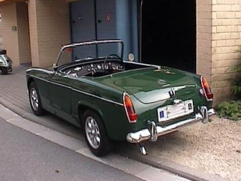 1963 mg midget vendre annonces voitures anciennes de. Black Bedroom Furniture Sets. Home Design Ideas