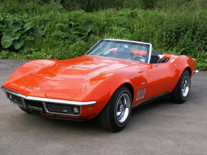 1969 chevrolet corvette vendre annonces voitures anciennes de. Black Bedroom Furniture Sets. Home Design Ideas