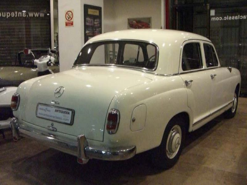 1961 mercedes benz 190 b ponton w121 for sale classic for 1961 mercedes benz