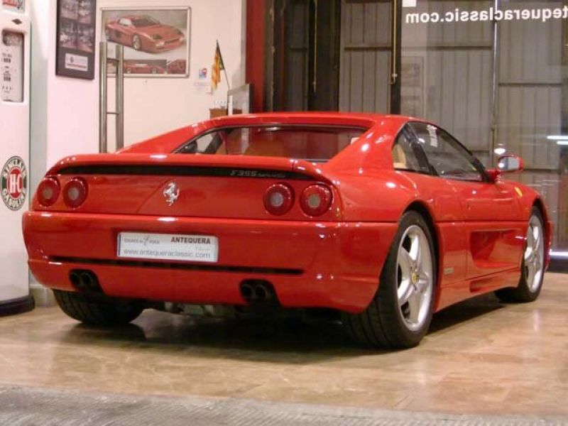 1997 ferrari f355 berlinetta venda an ncio de carros cl ssicos da. Black Bedroom Furniture Sets. Home Design Ideas