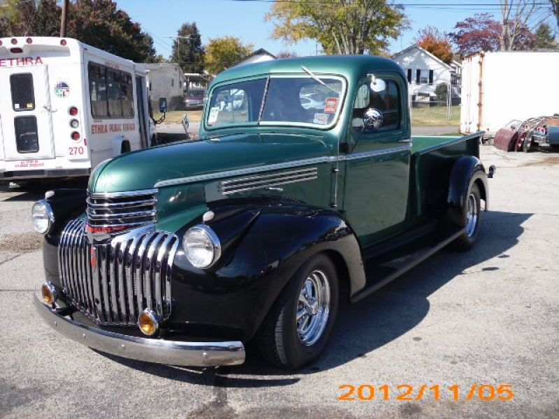1946 chevrolet pick up vendre annonces voitures anciennes de. Black Bedroom Furniture Sets. Home Design Ideas