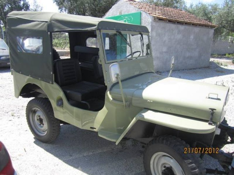 1949 willys jeep cj3a vendre annonces voitures. Black Bedroom Furniture Sets. Home Design Ideas