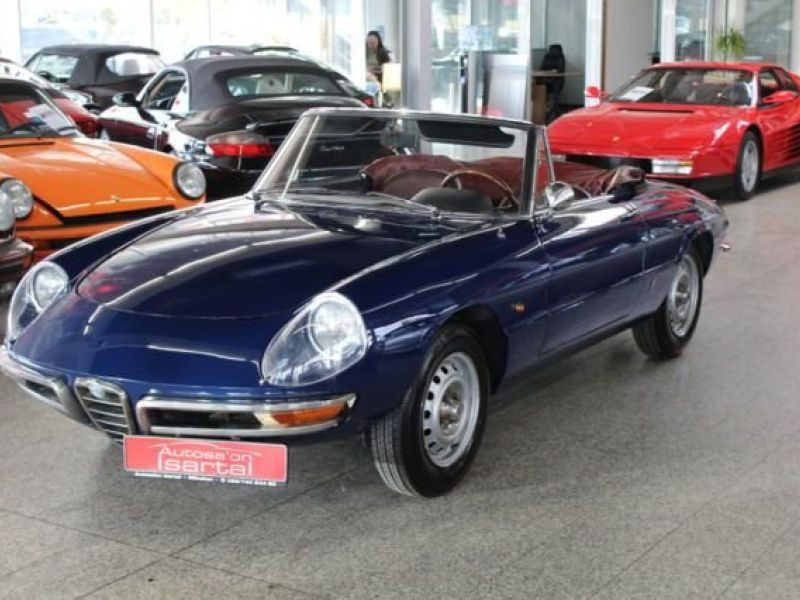 1967 alfa romeo spider vendre annonces voitures. Black Bedroom Furniture Sets. Home Design Ideas