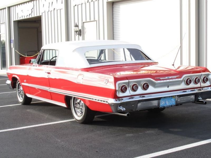 Accident Cars For Sale In Denmark: 1963 Chevrolet Impala For Sale