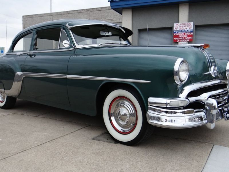 1954 Pontiac Chieftain For Sale Classic Car Ad From