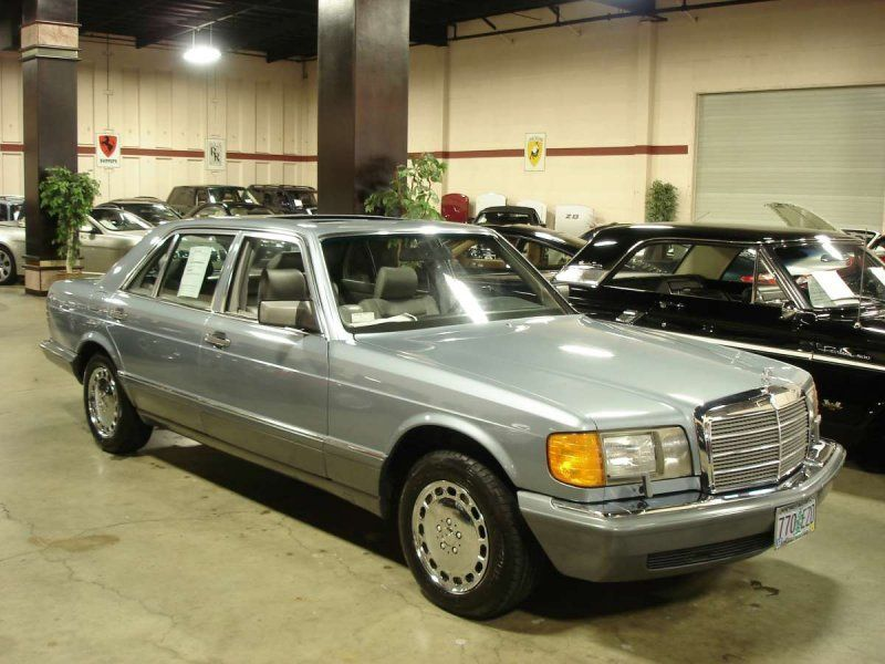 1986 Mercedes Benz 560sel For Sale Classic Car Ad From