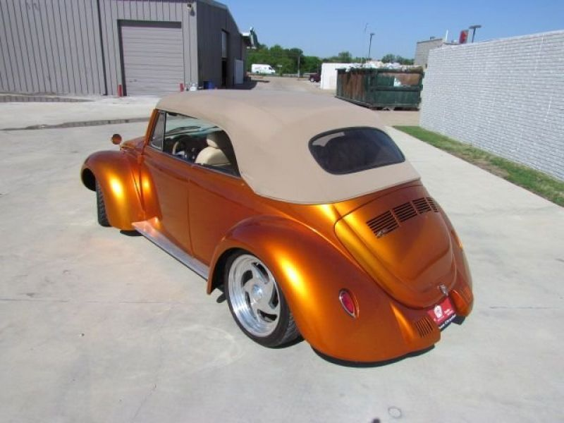 1975 VW/Volkswagen Beetle Convertible for sale - Classic car ad from CollectionCar.com.