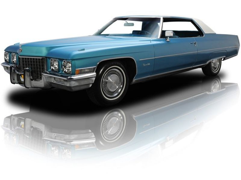 1971 Cadillac Coupe Deville For Sale Classic Car Ad From