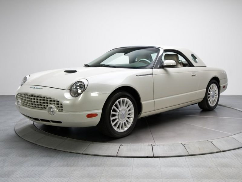2005 ford thunderbird 50th anniversary for sale classic car ad from. Black Bedroom Furniture Sets. Home Design Ideas