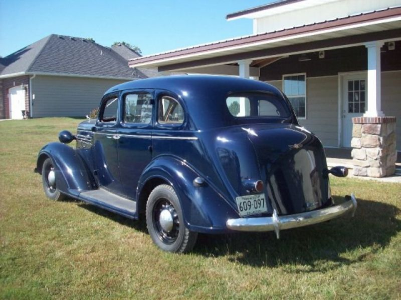 1936 dodge brothers for sale classic car ad from for 1936 dodge 4 door sedan