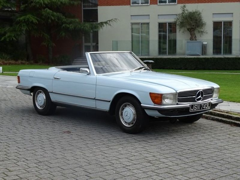 1973 mercedes benz 350sl for sale classic car ad from for Mercedes benz 350sl for sale