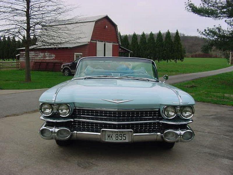 1959 cadillac 2 d convertible vendre annonces voitures anciennes de. Black Bedroom Furniture Sets. Home Design Ideas