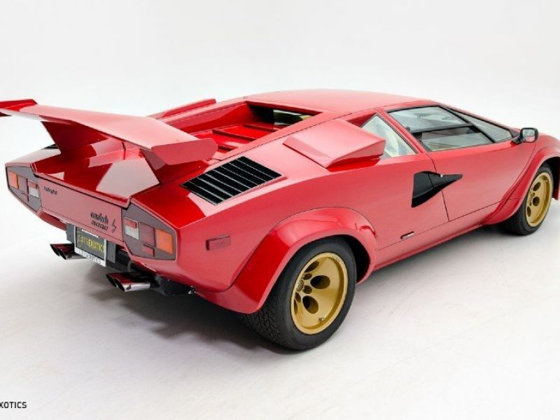 1983 lamborghini countach til salg klassiske bil. Black Bedroom Furniture Sets. Home Design Ideas