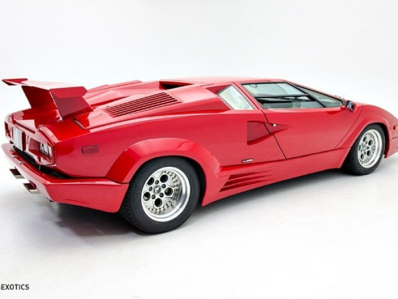 lamborghini countach til salg 1989 lamborghini countach. Black Bedroom Furniture Sets. Home Design Ideas