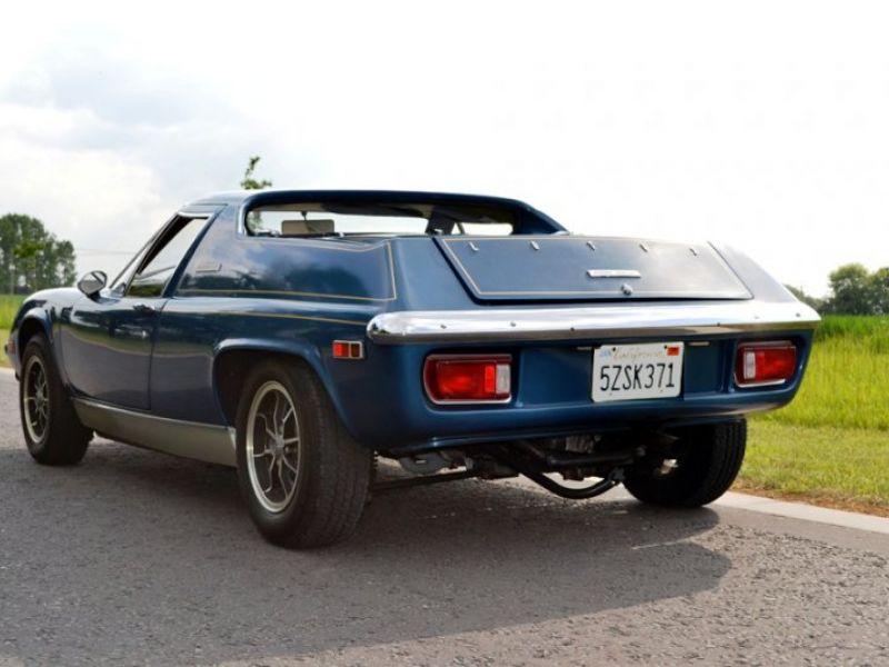 1974 lotus europa vendre annonces voitures anciennes de. Black Bedroom Furniture Sets. Home Design Ideas