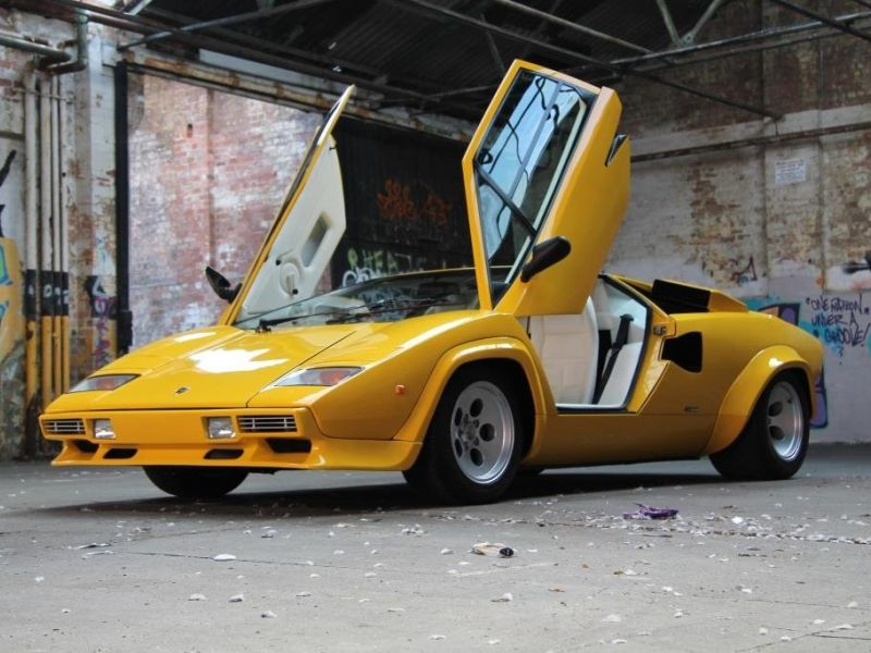 1983 lamborghini countach for sale classic car ad from. Black Bedroom Furniture Sets. Home Design Ideas