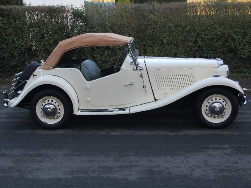 1953 MG TD for sale - Classic car ad from CollectionCar.com.
