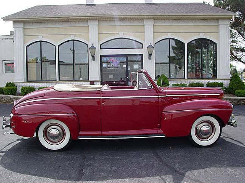1941 Mercury Convertible For Sale Classic Car Ad From