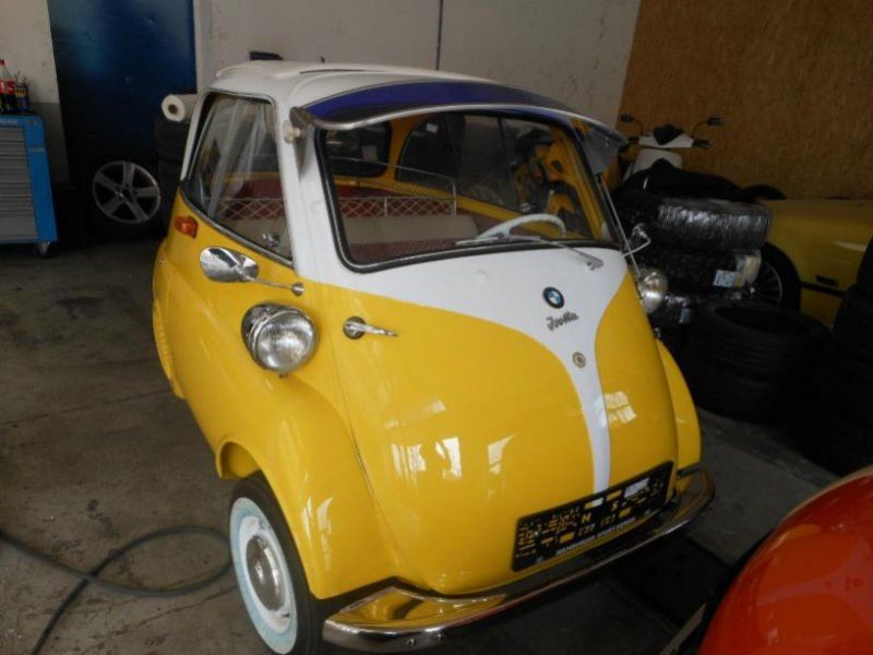 1961 bmw isetta for sale classic car ad from. Black Bedroom Furniture Sets. Home Design Ideas