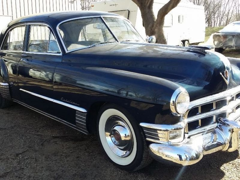1949 cadillac series 62 for sale classic car ad from for 1949 cadillac 4 door sedan