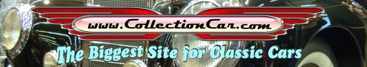 Biggest website for classic cars, parts, modelcars, literature, automotive art - worldwide advertisements