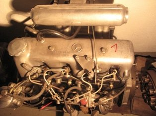Mercedes Engines 200d w123
