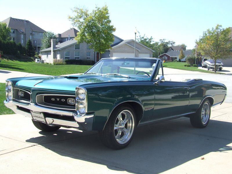 1966 Pontiac Gto For Sale Classic Car Ad From