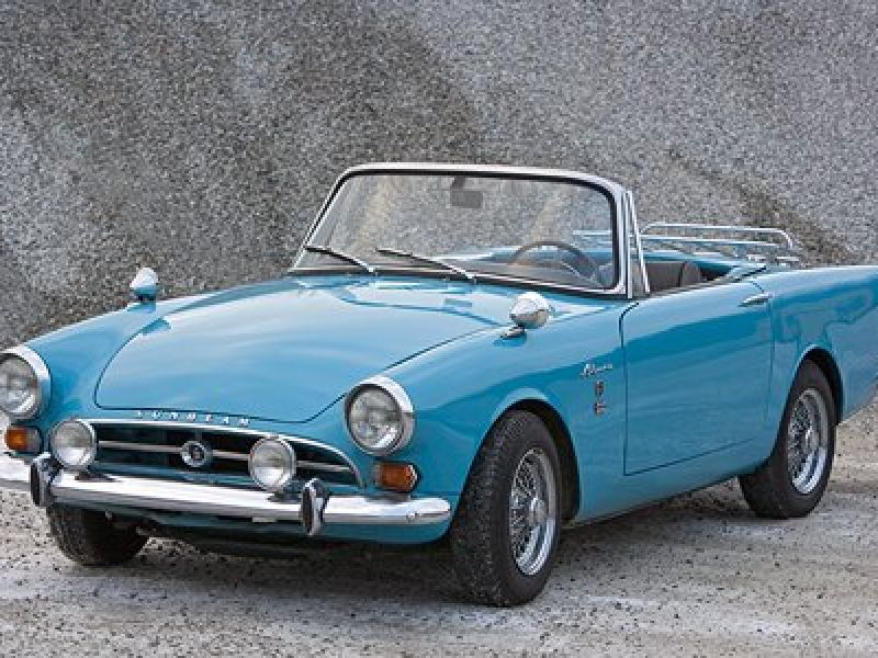 Classic Cars For Sale In Greece: 1964 Sunbeam Alpine For Sale