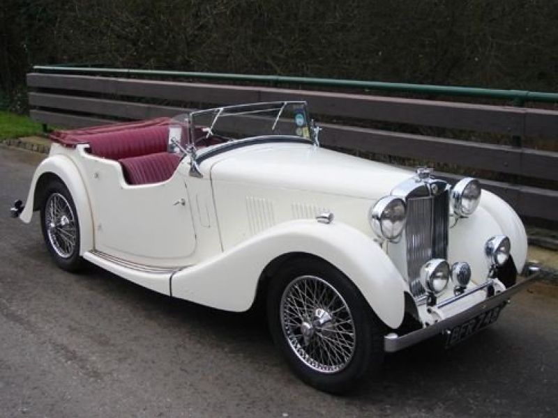 1939 MG VA for sale - Classic car ad from CollectionCar.com.
