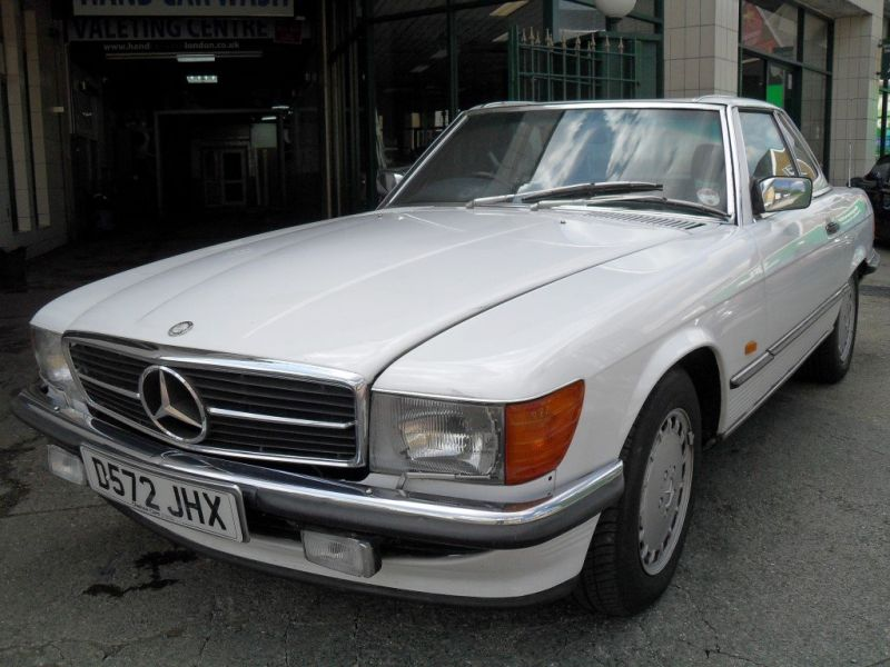 1986 Mercedes Benz 420sl For Sale Classic Car Ad From