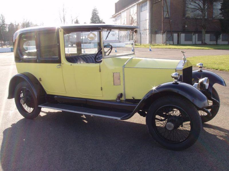 1923 rolls royce 20hp vendre annonces voitures anciennes de. Black Bedroom Furniture Sets. Home Design Ideas