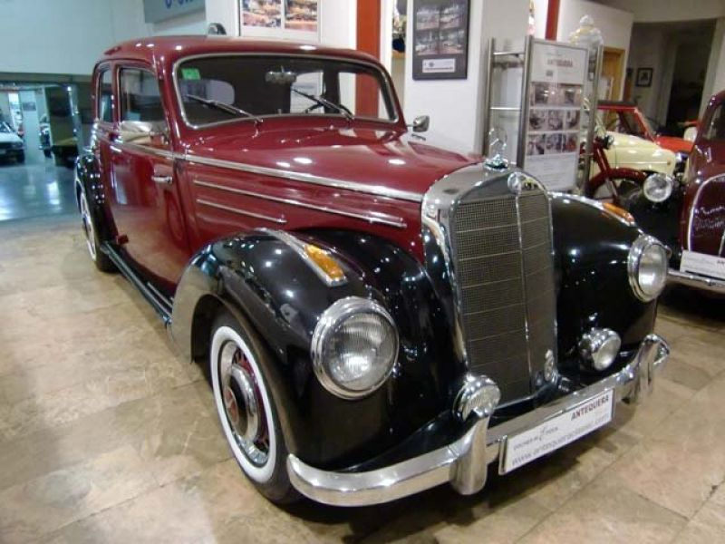 1953 mercedes benz 220 saloon w187 for sale classic car for 1953 mercedes benz 220 sedan for sale