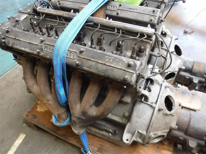 1958 Maserati engines/parts, AM 101*02