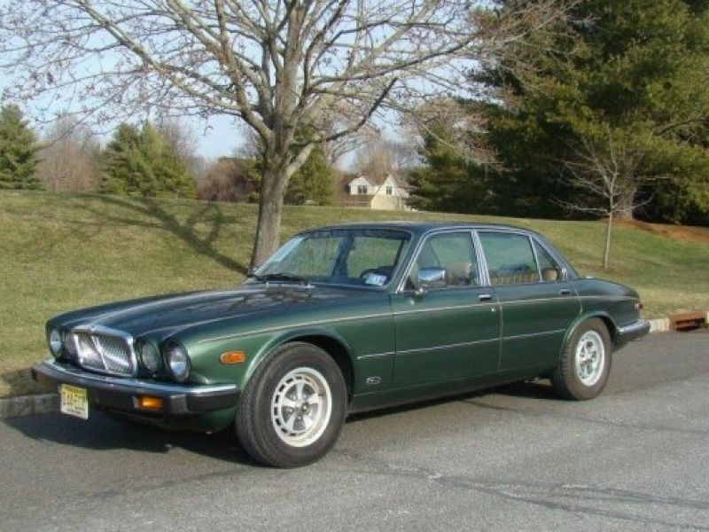 Accident Cars For Sale In Denmark: 1987 Jaguar XJ6 For Sale