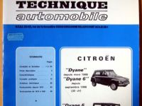 Revue Technique Automobile Citroen Dyane Mehari