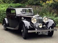 1934 Bentley, 3 1/2 Ltr Park Ward Sports Saloon B20CR