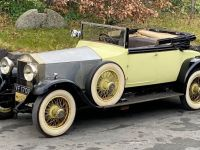 1927 Rolls-Royce, Phantom I Mann Egerton Drophead Dr's Coupe with dickey seat.
