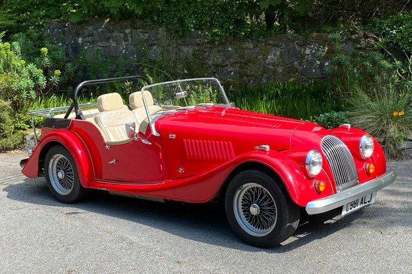1986 Morgan, Plus 4 - 4 seater