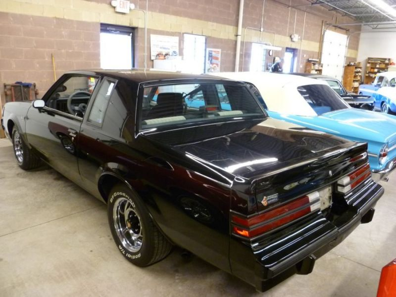 1987 buick grand national for sale classic car ad from. Black Bedroom Furniture Sets. Home Design Ideas