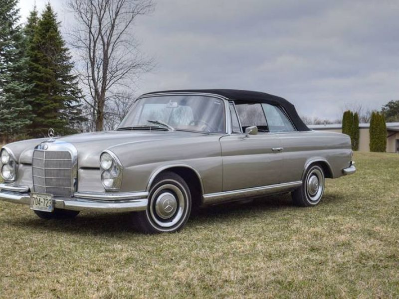 1967 mercedes benz 250se for sale classic car ad from for Comercial mercedes benz