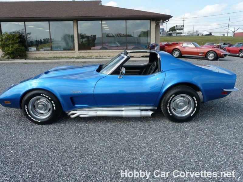 1973 chevrolet corvette vendre annonces voitures anciennes de. Black Bedroom Furniture Sets. Home Design Ideas