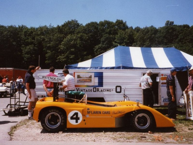1969 mclaren m8b for sale - classic car ad from collectioncar.