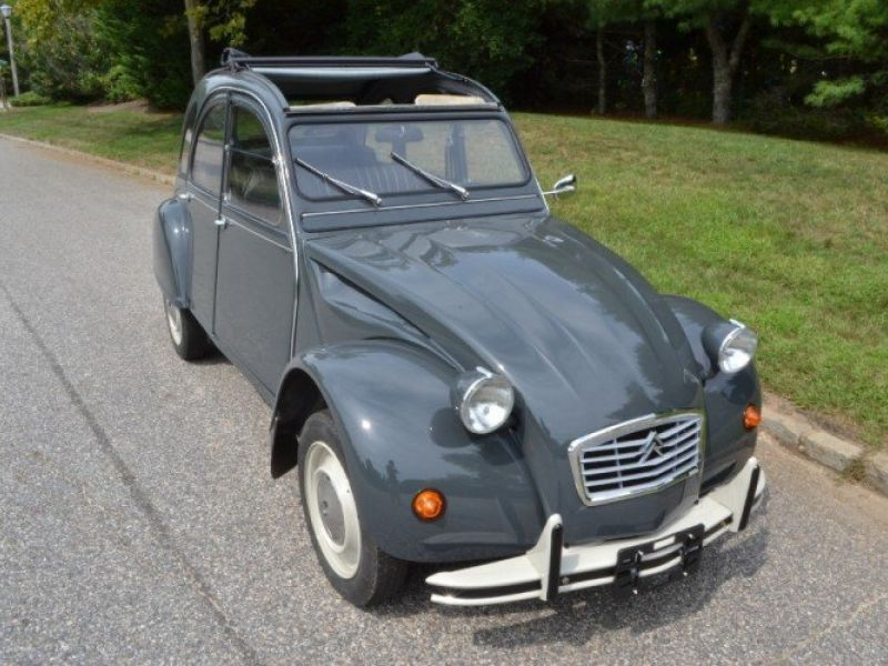 1984 citroen 2cv vendre annonces voitures anciennes de. Black Bedroom Furniture Sets. Home Design Ideas