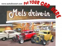 Put YOUR CAR at Mels Drive-in