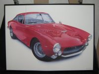 """1963 Ferrari Lusso\""by Harold J Cleworth"