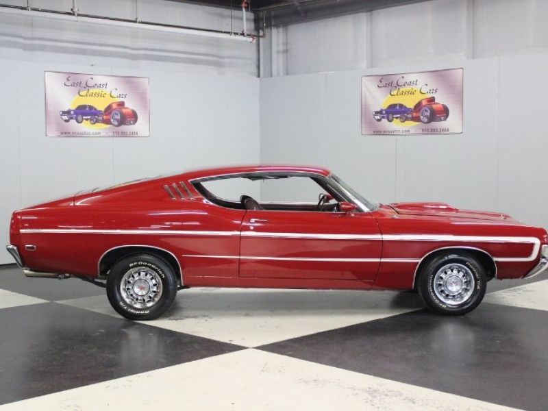 1969 Ford Torino Cobra for sale - Classic car ad from CollectionCar.com.