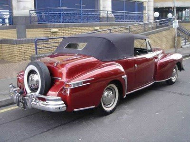 1947 Lincoln Continental For Sale Classic Car Ad From