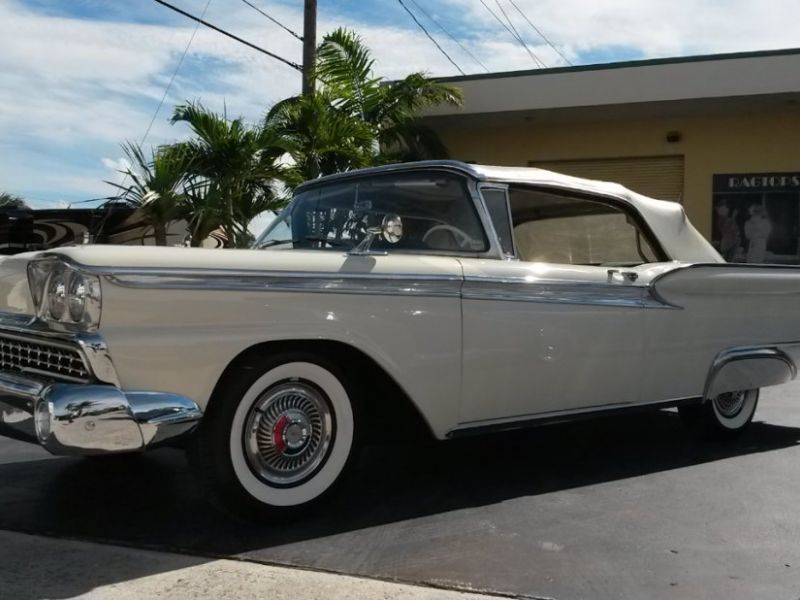 1959 ford galaxie 500 convertible for sale classic car ad from. Black Bedroom Furniture Sets. Home Design Ideas